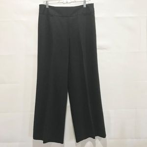 "LOFT ""Laura"" Black Wool High Waist Pants 10"